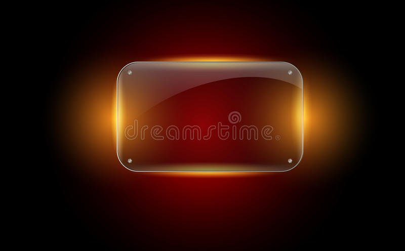 Download Beautiful  glass frame stock vector. Image of border - 31509181