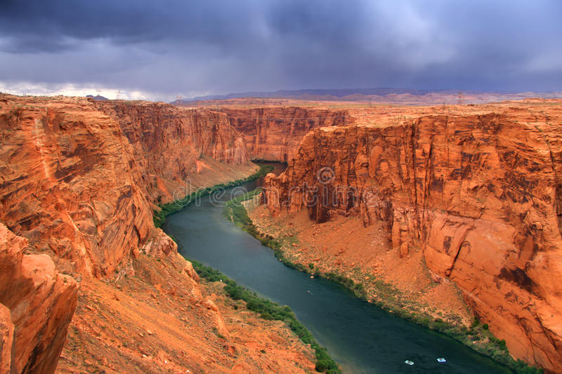 Download Beautiful glen canyon area stock photo. Image of blue - 27760496