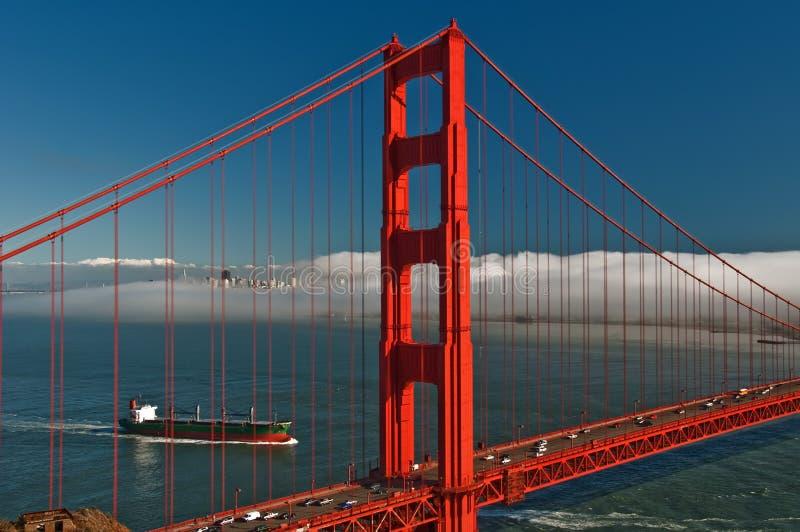 Beautiful Golden Gate Bridge In San Francsico Stock Photos
