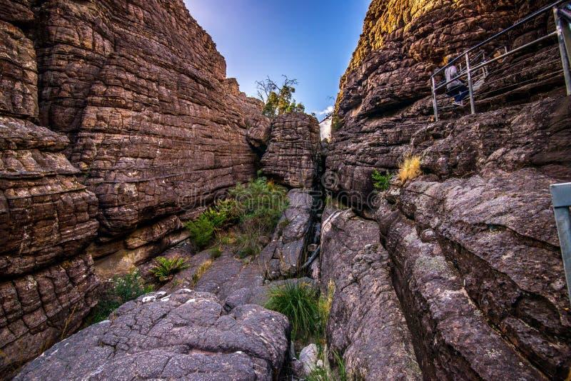 The beautiful gorge of Grampian stock photos