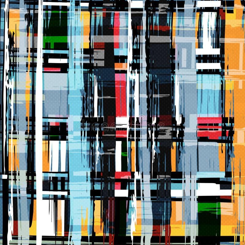 Beautiful graffiti grunge texture abstract background vector illustration stock illustration