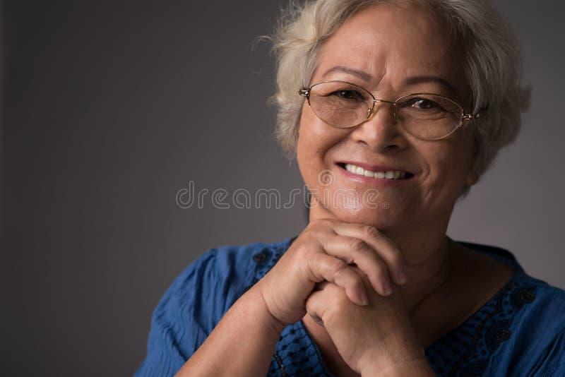Beautiful granny stock photo