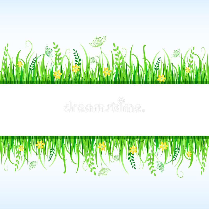 Download Beautiful Grass Frame stock vector. Illustration of countryside - 23983365
