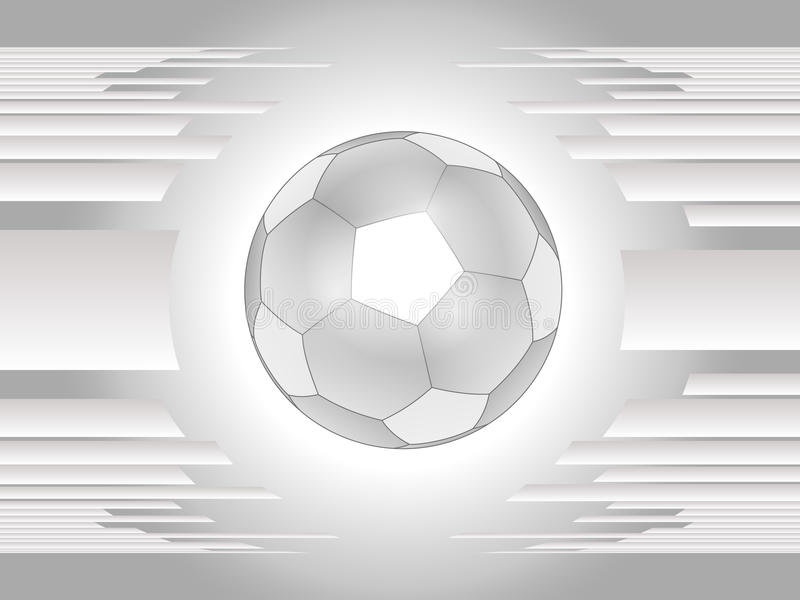 Download Beautiful Gray Soccer Ball Background Royalty Free Stock Photography - Image: 25338177