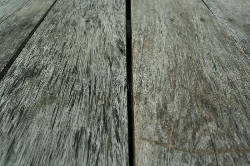 The beautiful gray wooden. stock photo