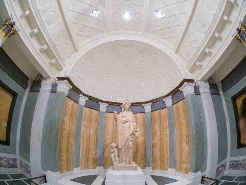 Beautiful Greek style exhibit royalty free stock photos