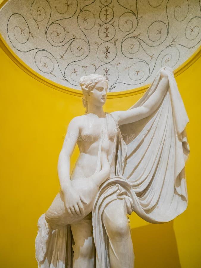 Beautiful Greek style exhibit stock photos