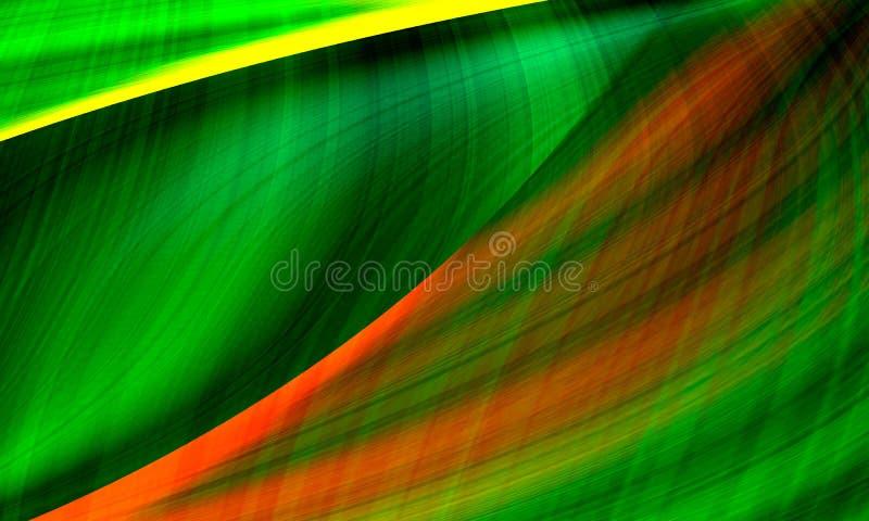 Beautiful Green pattern background stock illustration