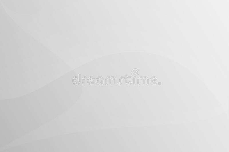 Beautiful grey curves abstract royalty free illustration