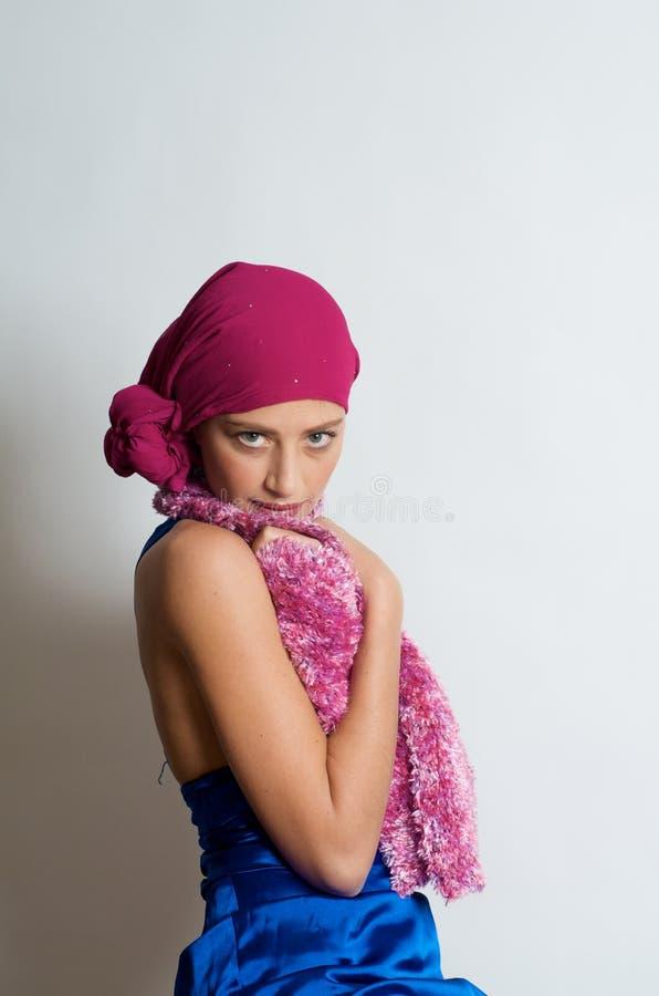 Beautiful Gypsy Model royalty free stock photos
