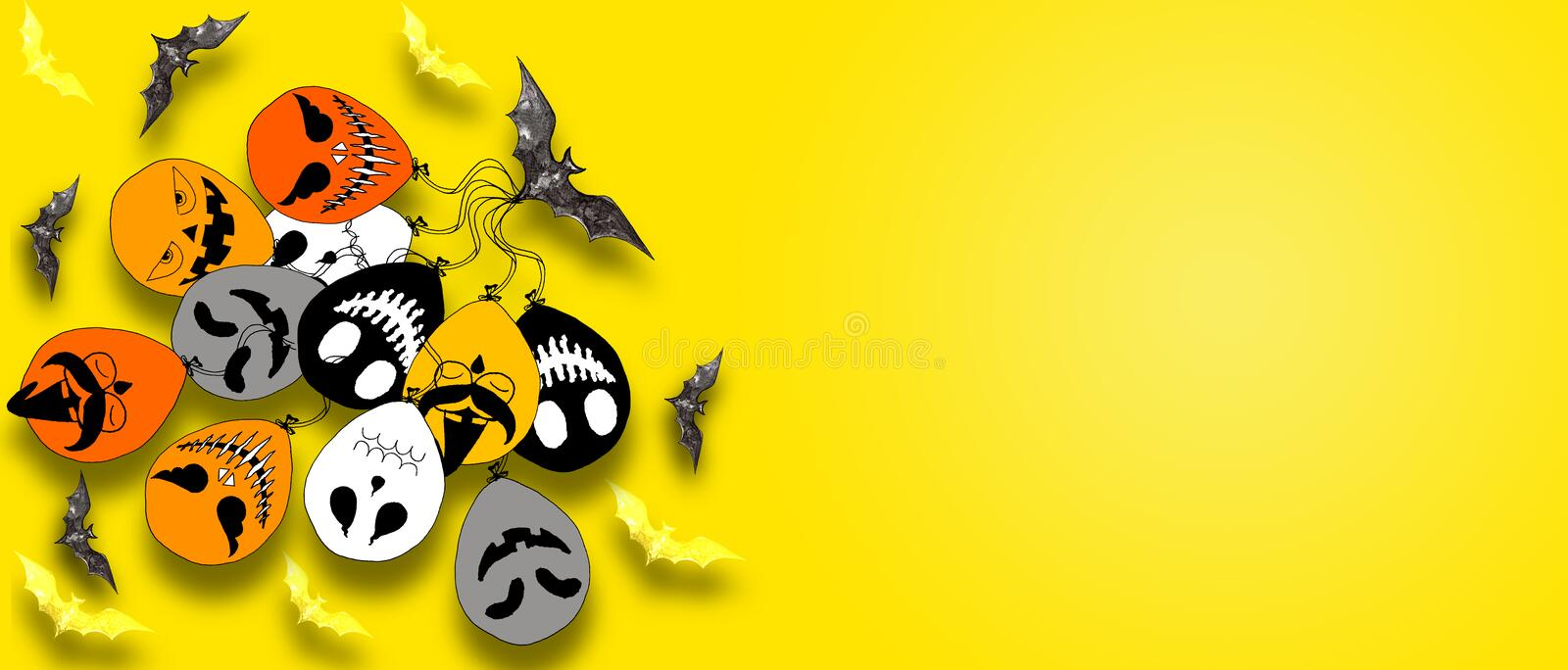 Beautiful halloween background for your website spooky or banner template about halloween day. Beautiful halloween background for your website spooky or banner stock photo