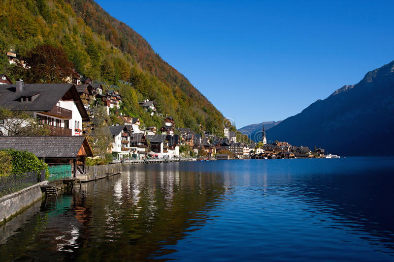 Beautiful Hallstatt in Austria royalty free stock image