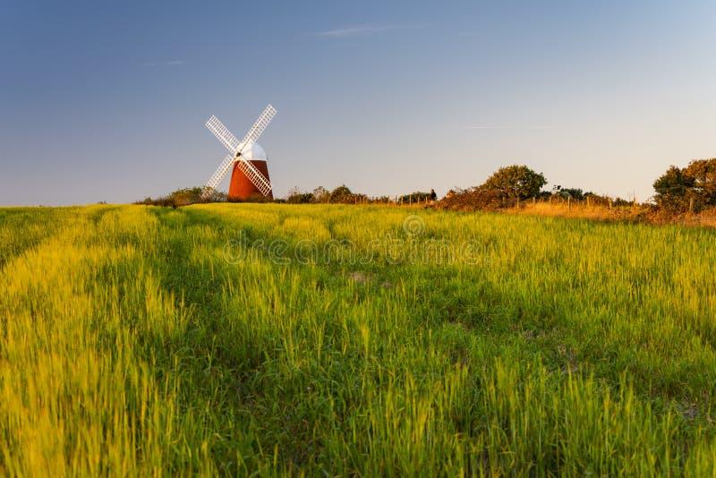 The beautiful Halnaker Windmill stock photo