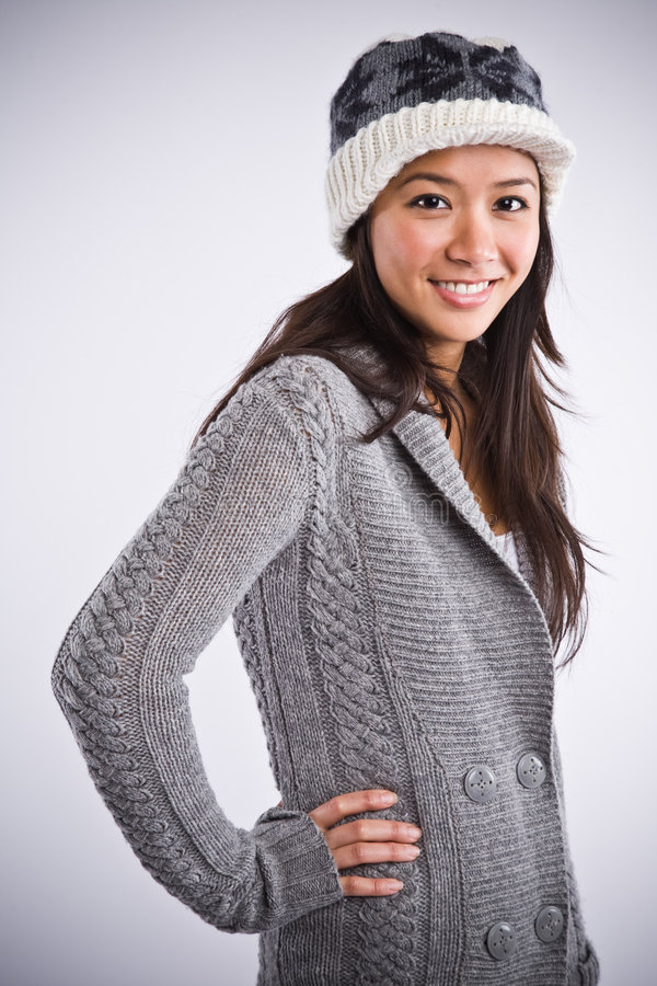 Download Beautiful Happy Asian Woman Stock Photo - Image: 8061652
