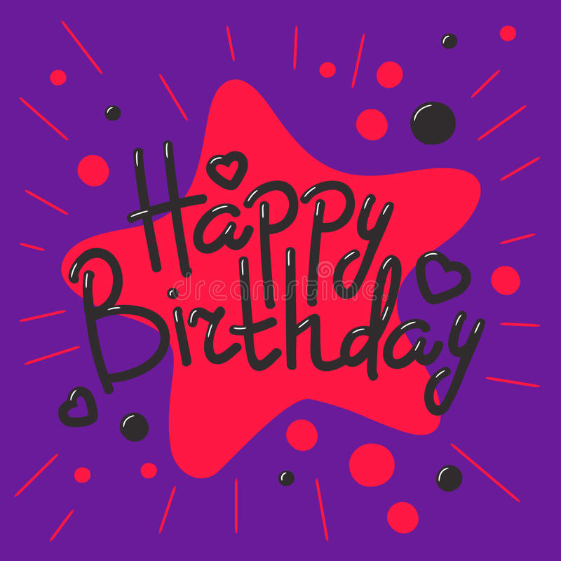 Beautiful happy birthday invitation cards vector. Beautiful birthday invitation cards design colors anniversary background. Vector greeting card decoration vector illustration