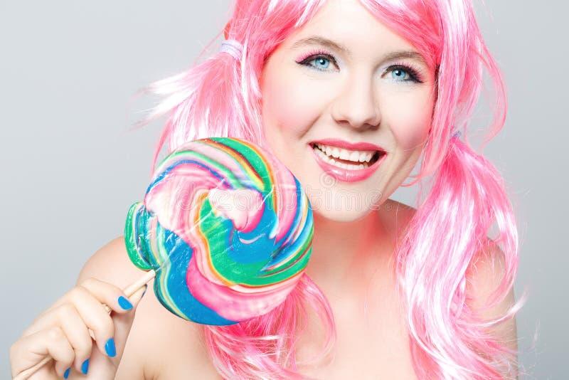 Beautiful happy girl royalty free stock image