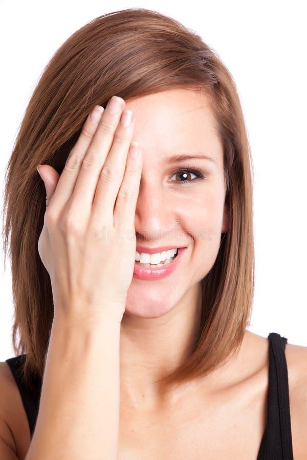 Beautiful Happy Woman Stock Image