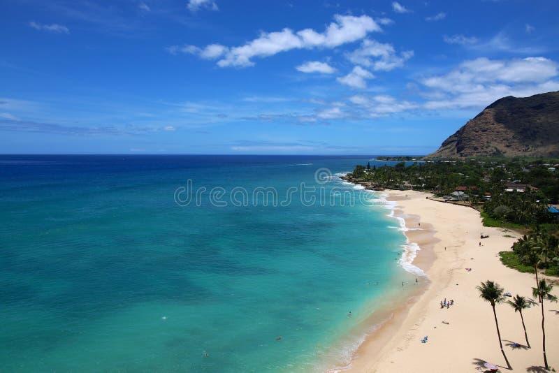 Beautiful Hawaii Coast royalty free stock photo