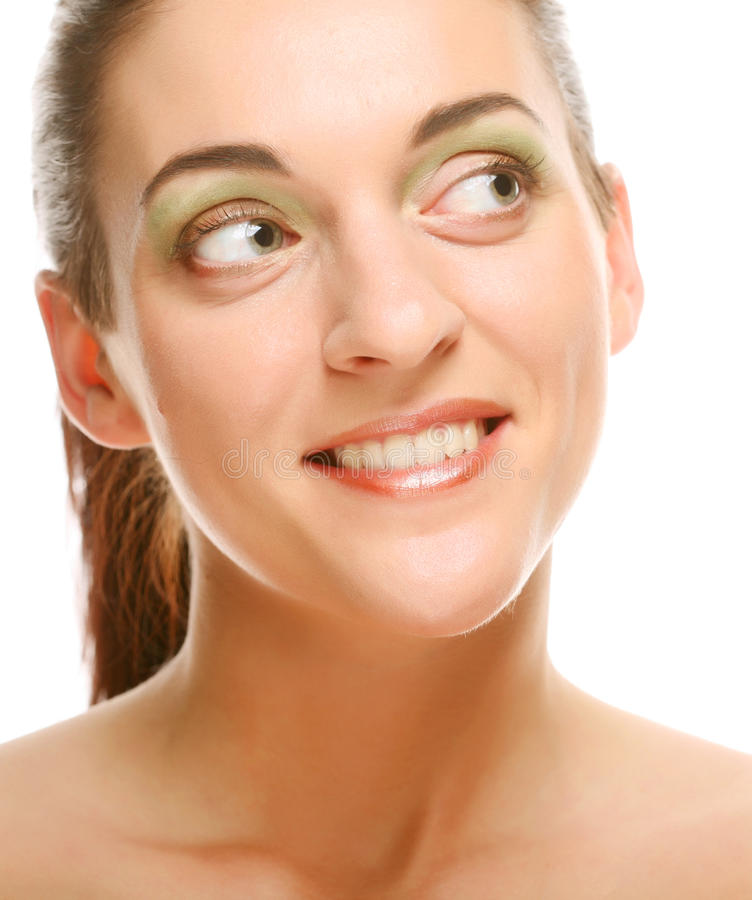 Download Beautiful Health Woman Face With Clean Purity Skin Stock Image - Image: 15355681