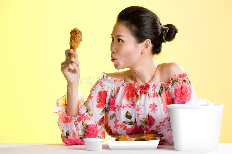 Download Beautiful Healthy Asian Young Women Stock Image - Image: 6183835