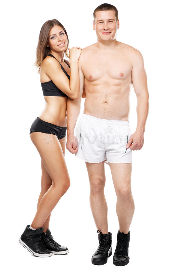 Download Beautiful Healthy-looking Couple In Sports Outfit Stock Image - Image: 25572913