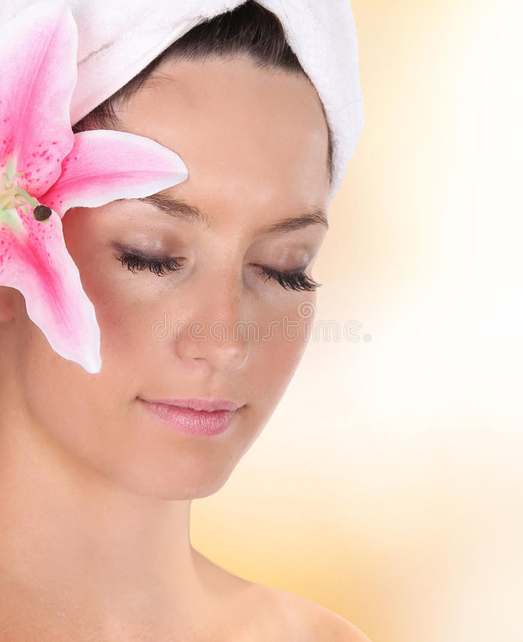 Download Beautiful Healthy Woman Face Stock Image - Image: 29023921