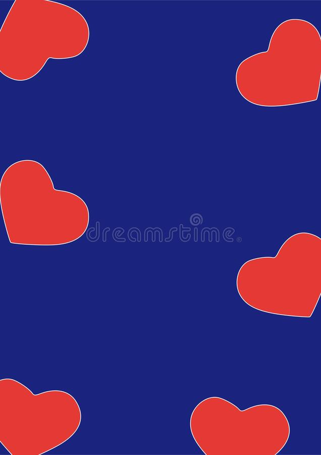 Beautiful hearts pattern, abstract white background, graphic design illustration wallpaper, valentine's day greeting card. Beautiful red hearts pattern in vector illustration