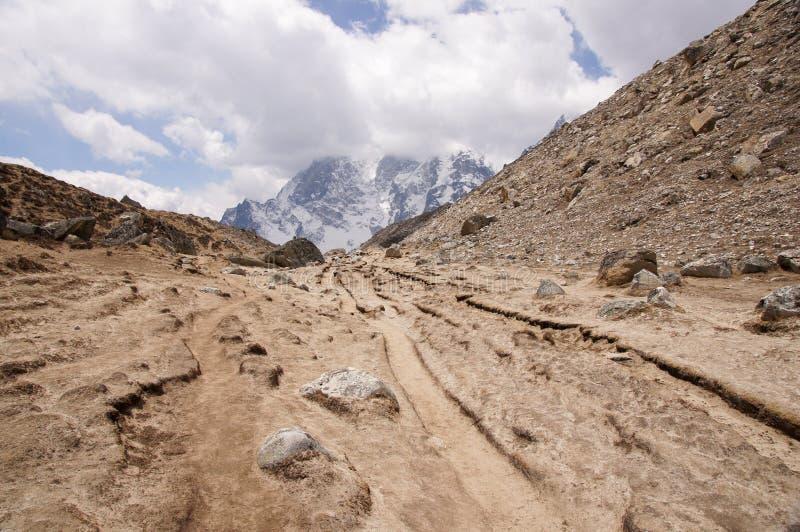 Beautiful high-altitude landscape stock images