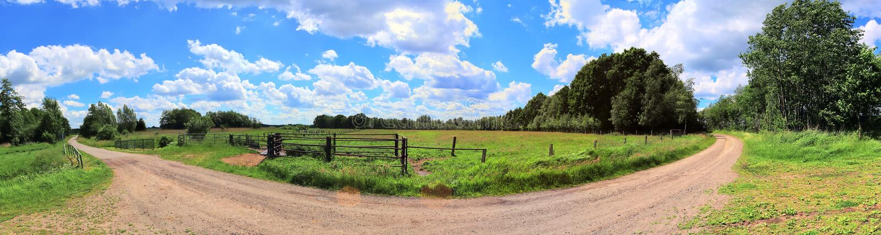 Beautiful high resolution summer landscape with fields, green grass and a stunning summer sky taken in northern germany. Beautiful high resolution summer stock photos