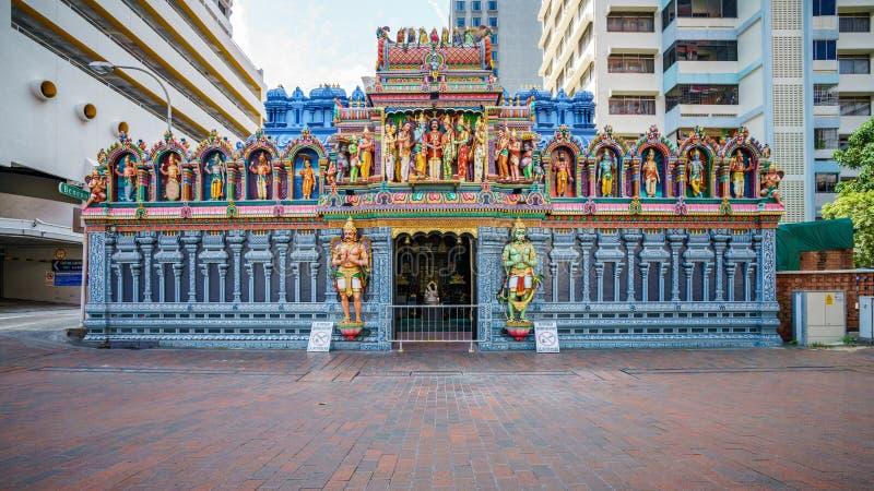Sri Krishnan Hindu Temple, Singapore Editorial Photography - Image of  exotic, singapore: 40360232