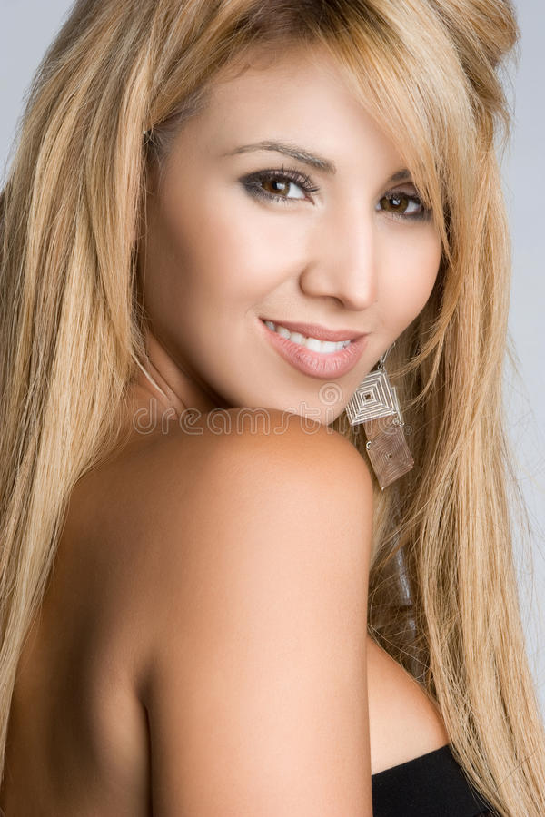 Free Beautiful Hispanic Woman Royalty Free Stock Images - 10865959
