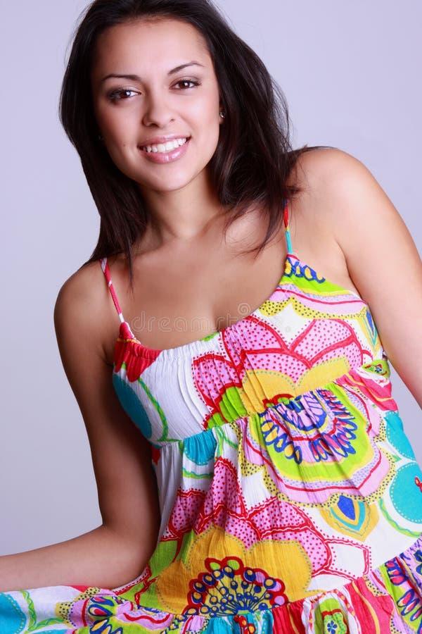 Download Beautiful Hispanic woman stock image. Image of grinning - 7319253