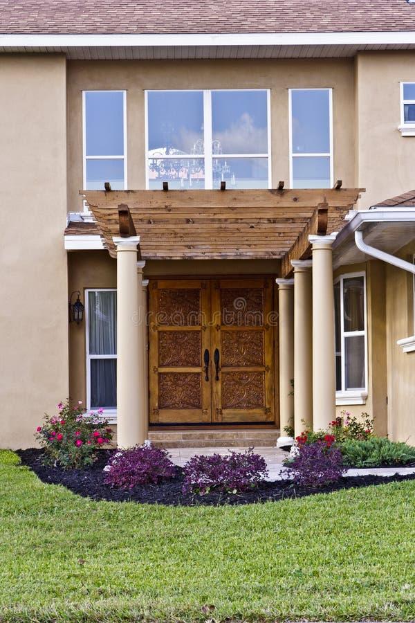 Beautiful Home Entry stock photos