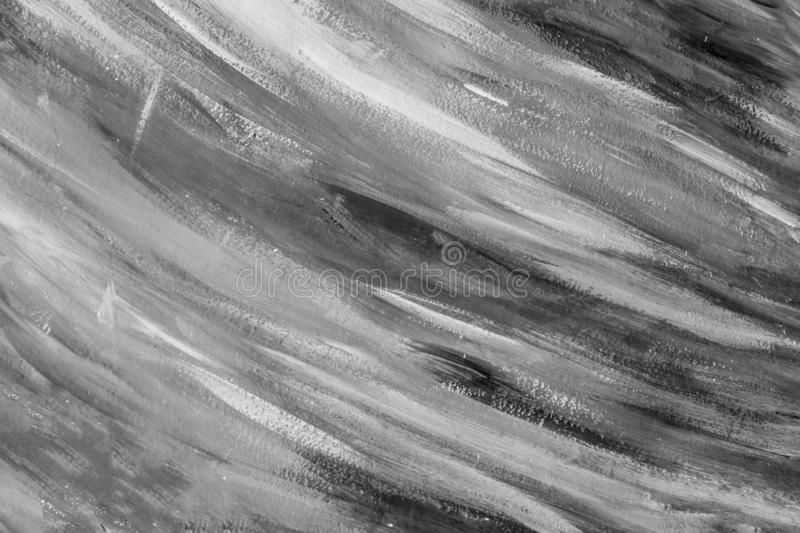 Beautiful horizontal texture painted in white and gray colors stock images