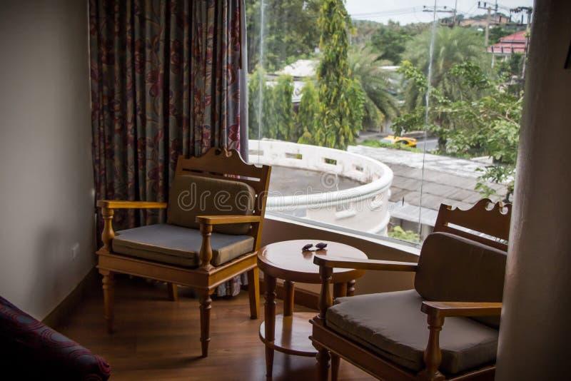 Thailand, Samui hotel room. Beautiful hotel in the heart of Samui stock photography