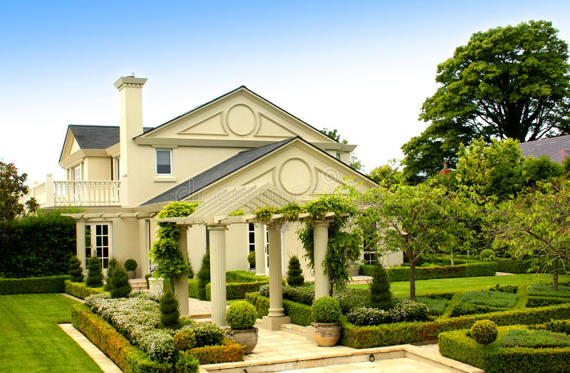 Download Beautiful House Stock Photos - Image: 18847173