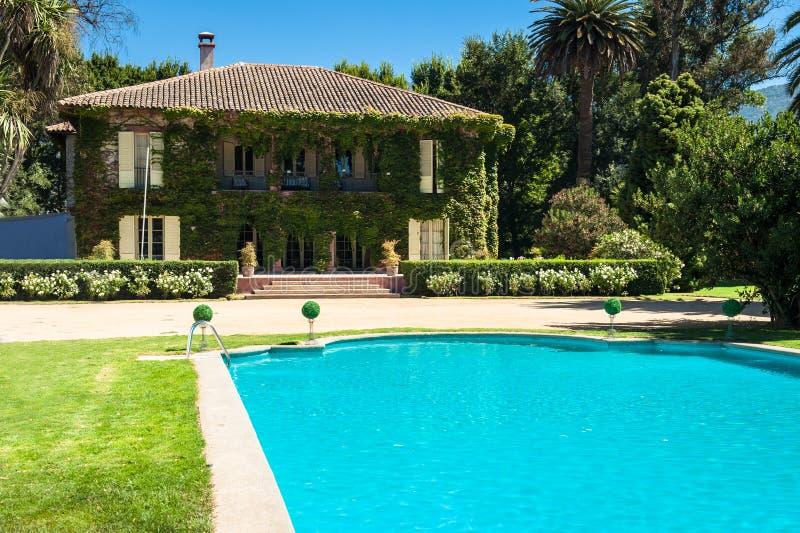 Download Beautiful House And Backyard Stock Photo - Image: 29685230