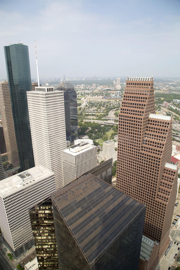 Beautiful Houston TX royalty free stock photos