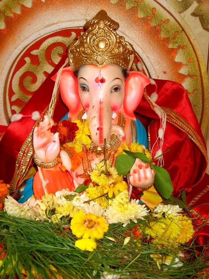 Free Beautiful Idol Lord Ganesh-I Royalty Free Stock Photos - 9588608