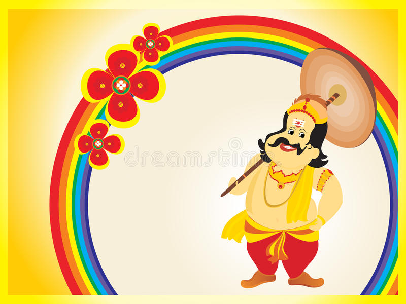 Download Beautiful Illustration For Happy Onam Stock Vector - Image: 21417433