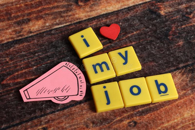 Job love royalty free stock images