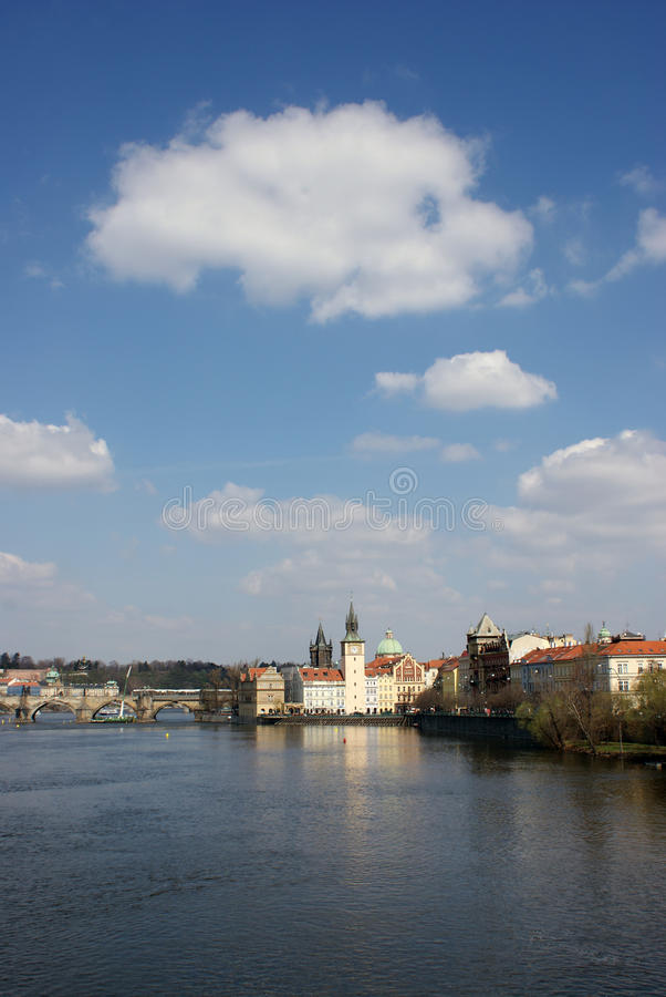 Beautiful image of Prague stock images