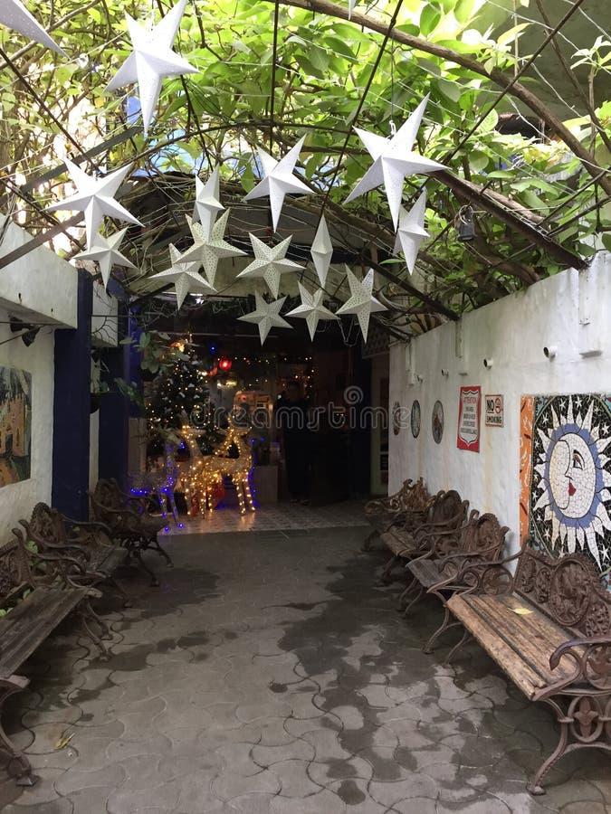 Interiors of Candies Restaurant, Mumbai, India stock images