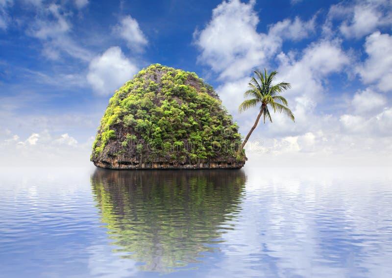 Beautiful island royalty free stock photos
