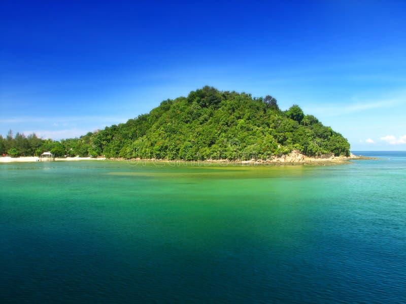 Beautiful island stock photos