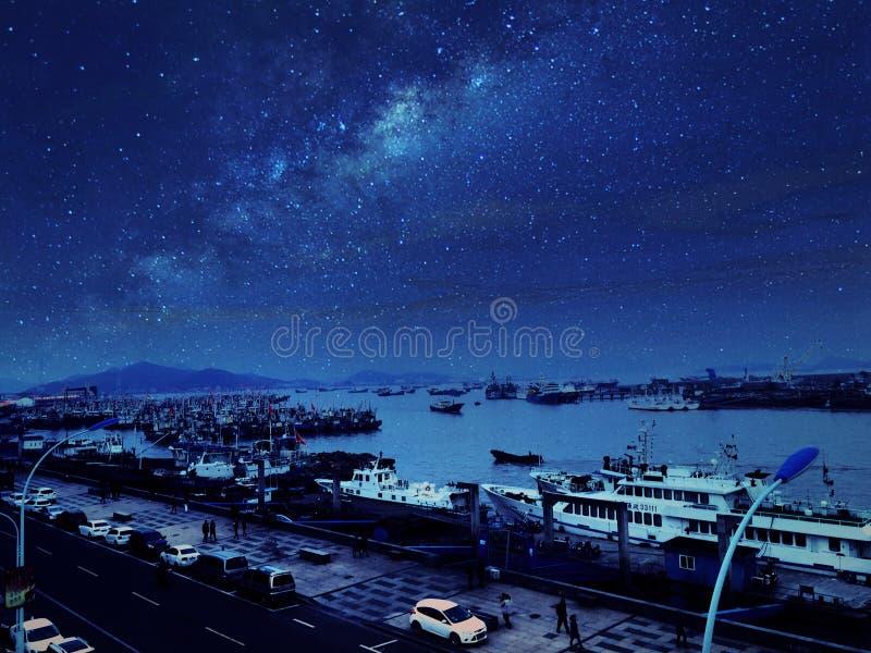 Beautiful island in china royalty free stock photos