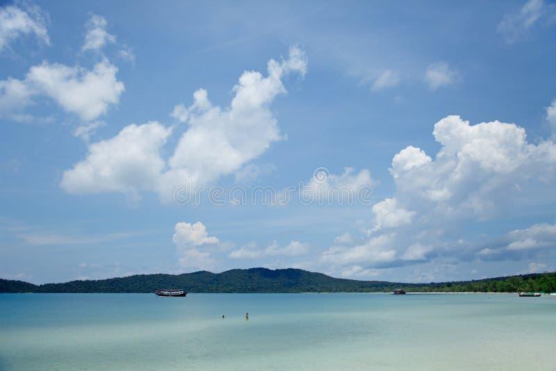 Beautiful Island destination royalty free stock photography