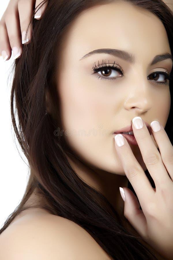 Beautiful Italian Woman Royalty Free Stock Photo
