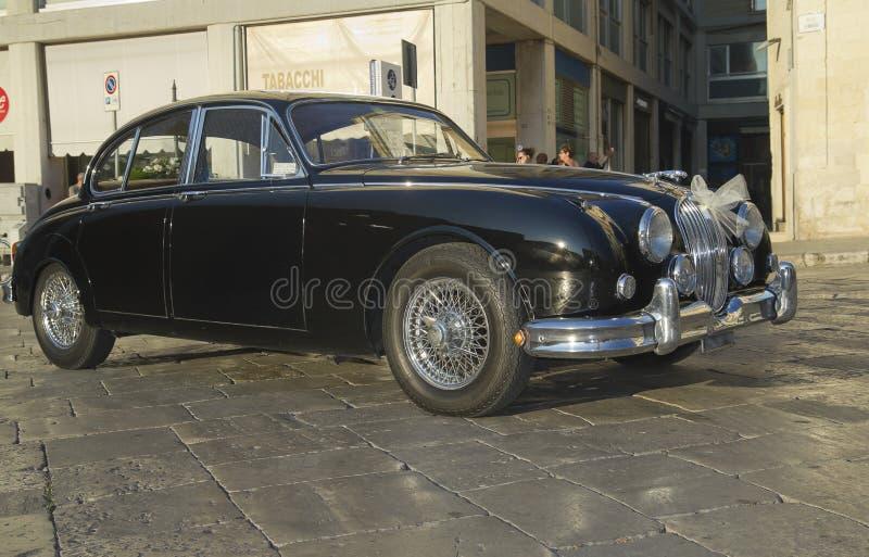 Beautiful jaguar mk2,vintage car stock photography