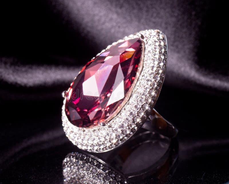 Beautiful Jewelry On Background Stock Photo - Image of luxury ...